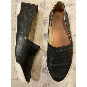 Frye Slip On Leather Sneakers Loafers